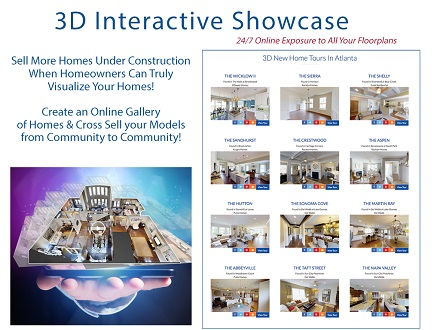 Atlanta New Homes Directory 3D Interactive Showcase