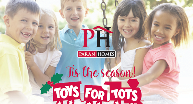Paran Homes - Toys for Tots