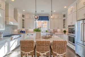 model home kitchen at smyrna community