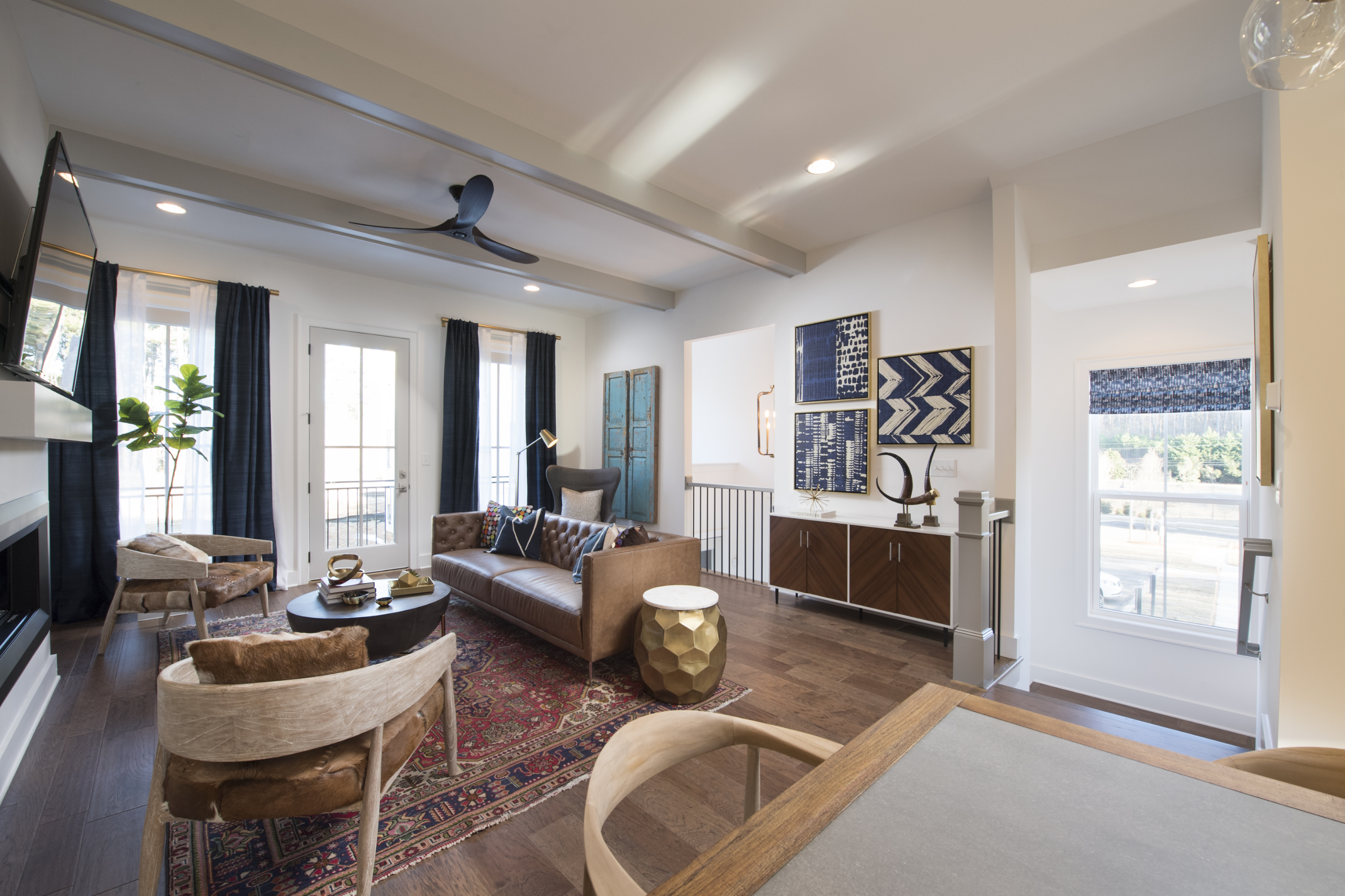 Decorated Model Homes: Decorated Model Home Opens At New Woodstock Townhome Community