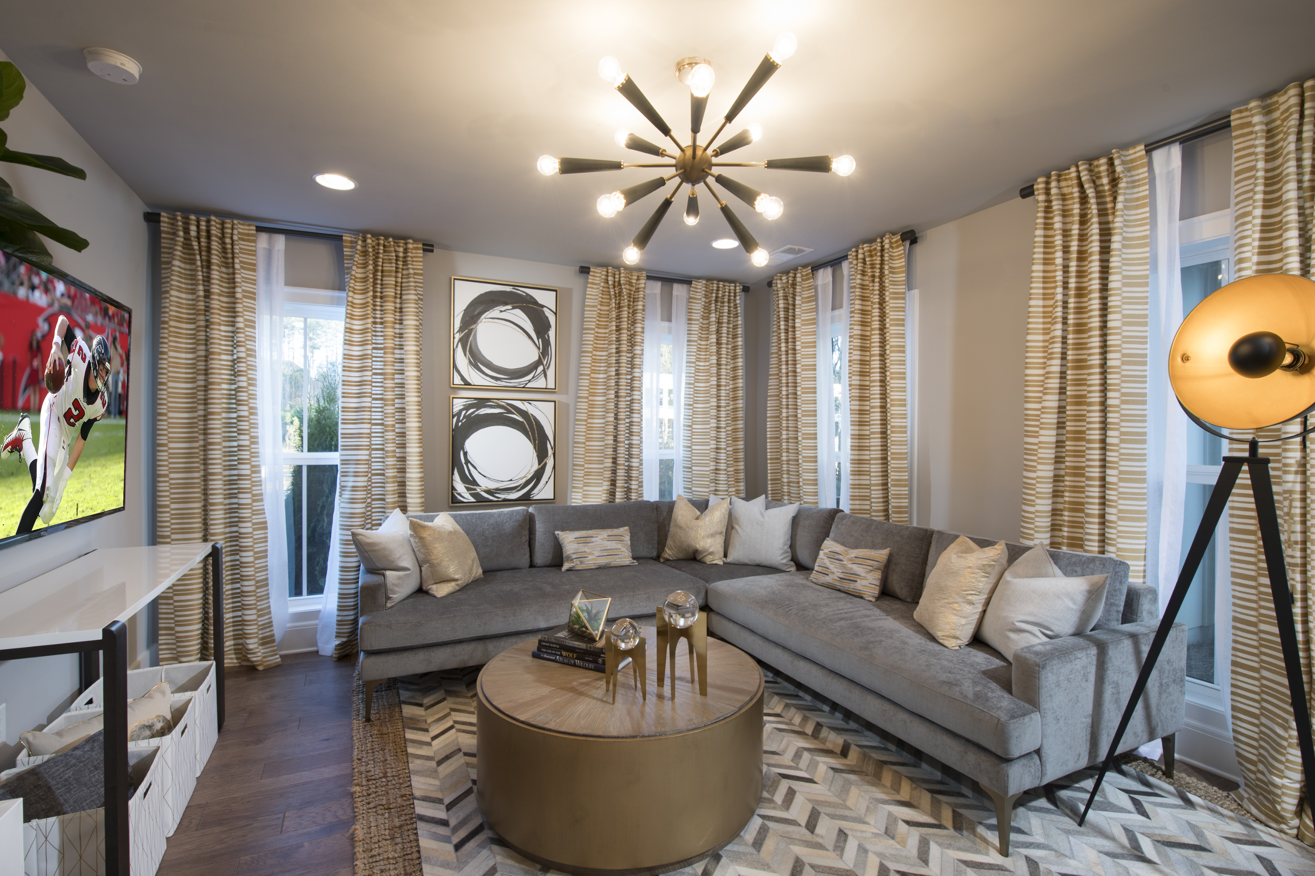 Decorated Model Home Now Open at New Woodstock Townhome Community