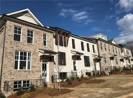 New Johns Creek Townhomes Available Now at Cresslyn