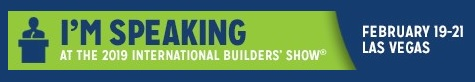 International Builders Show Speaker