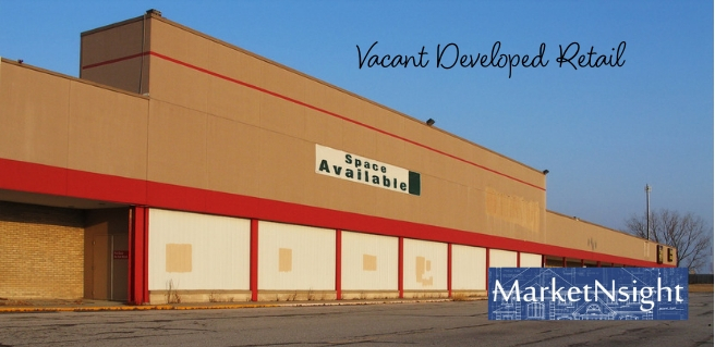 vacant developed retail