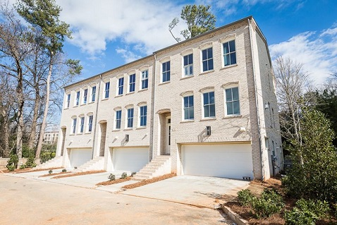 New Buckhead Townhomes Available from Monte Hewett Homes