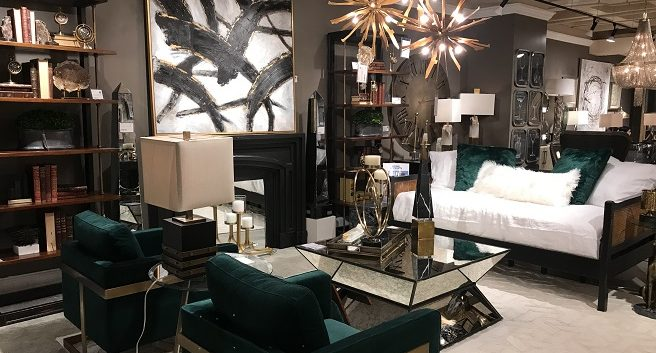 home decor trends seen at AmericasMart