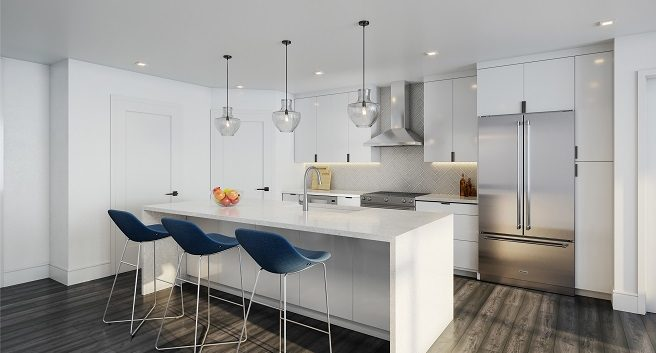 Seven88 West Midtown Kitchen Design Scheme
