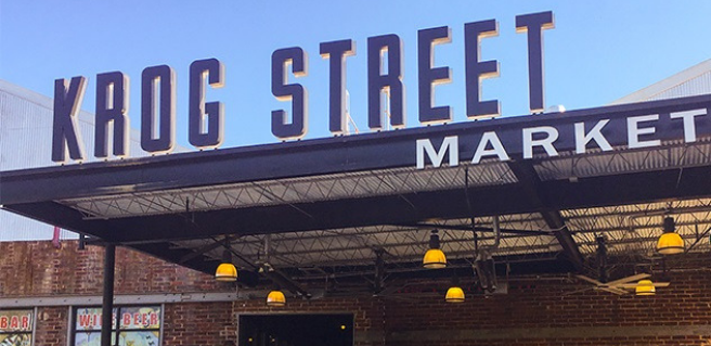 The Providence Group Explores Krog Street Market, Atlanta BeltLine