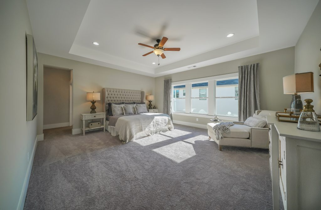 The Spacious Master Suite in the NEW Model Home at The Lakes of Franklin Goldmine is a Welcome Retreat - Paran Homes