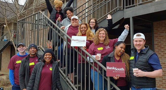 Phoenix Pass Care Day with BankSouth
