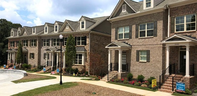 Incentives Available on Move-In Ready Kennesaw Townhomes