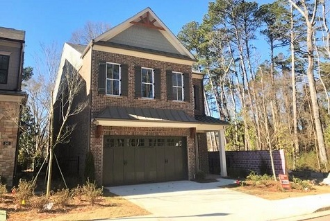 New Alpharetta Homes Available at New Walkable Community