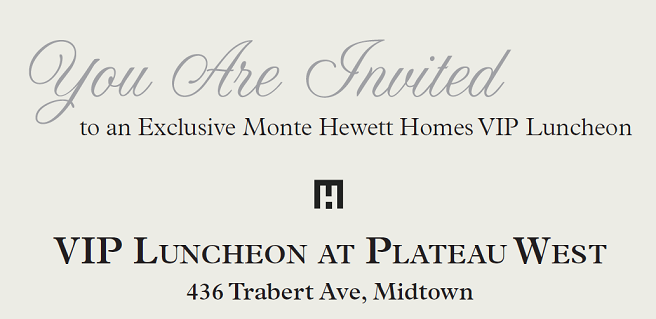 Join Monte Hewett Homes at Agent Event at New Atlanta Community