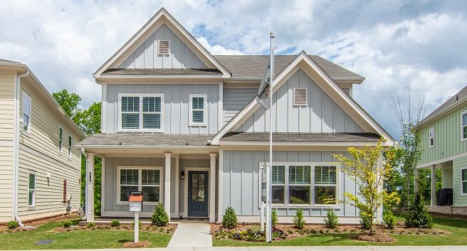 new model home in Marietta