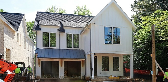 Monte Hewett Homes Announces New Buckhead Homes Nearing Completion