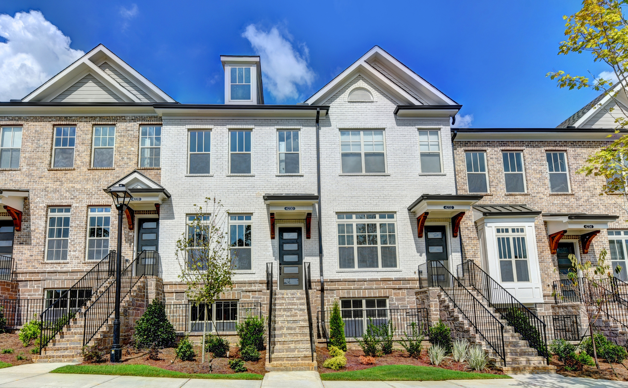 Hurry Home to New Sandy Springs Townhomes at The Townes at Chastain