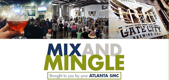 Join Atlanta SMC for Networking Event at Gate City Brewing Co.