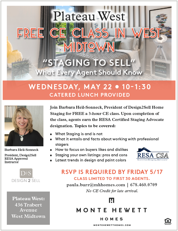 Free CE Class: Staging to Sell - What Every Agent Should Know