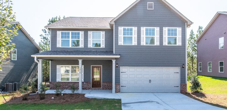 new home in Fairburn at Dodson Lake