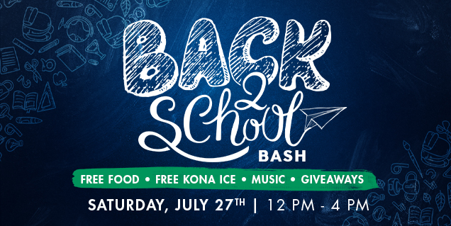 Join SR Homes for Back 2 School Bash at New Cumming Community