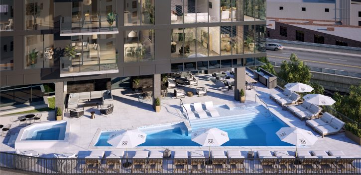 Picture depicting Seven88 West Midtown Pool