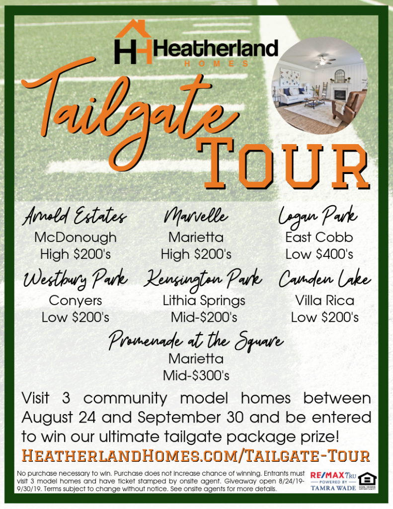 Tailgate Tour Flyer