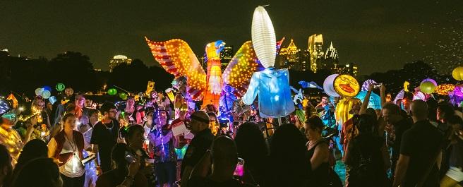 Art on the Atlanta BeltLine Lantern Parade Returns September 21