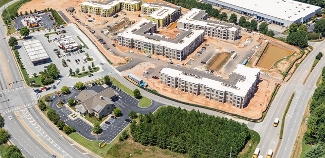 Energy-Efficient, New Suwanee Apartments Coming Soon to Heights Old Peachtree