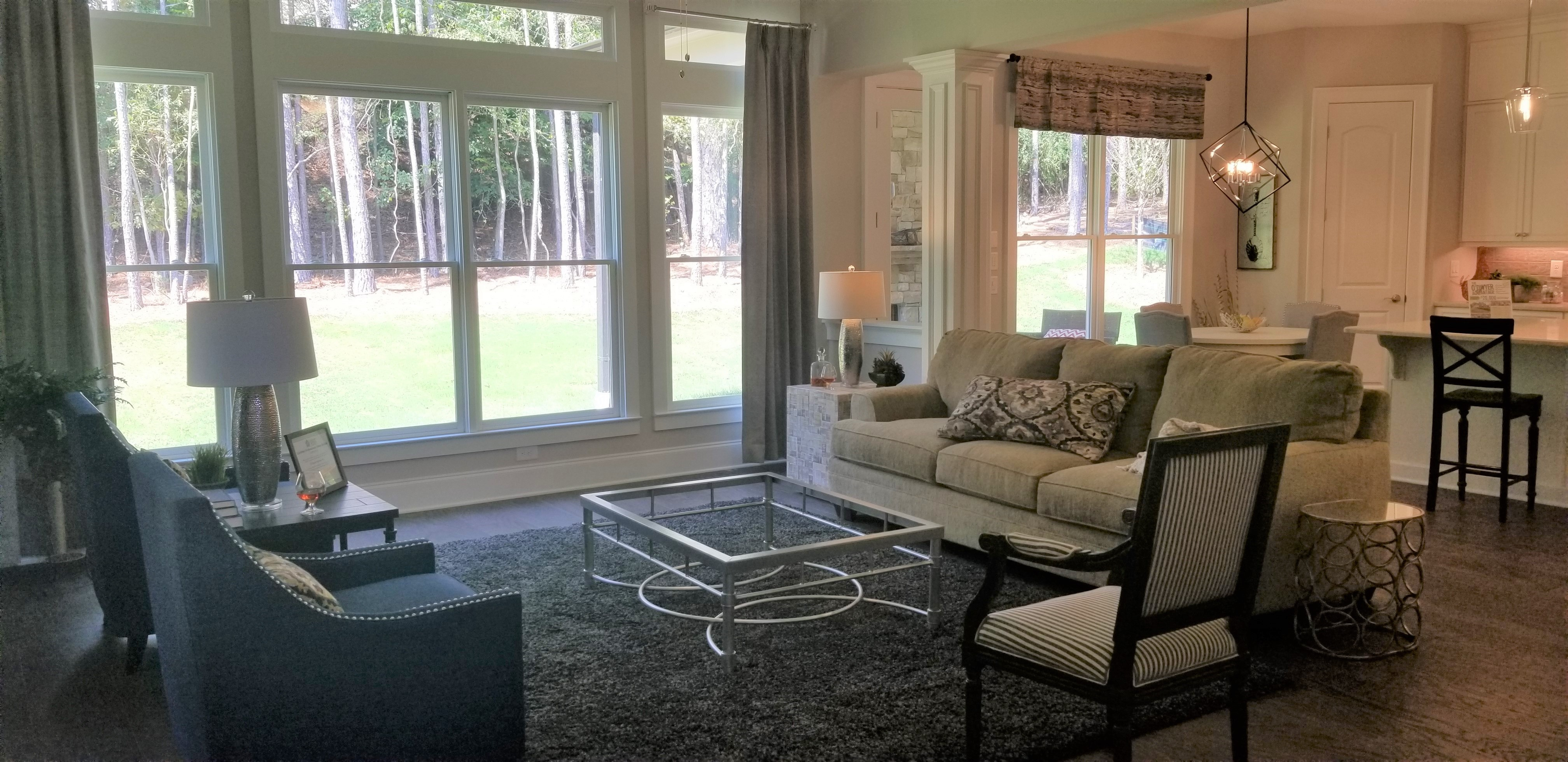 Newly Decorated Model Home Now Open at Parsons Retreat