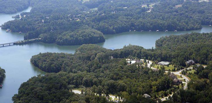 shores of lake lanier
