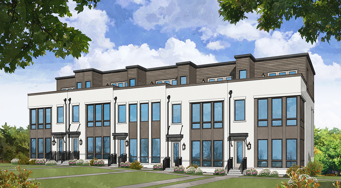 Monte Hewett Homes Releases Home Designs for New Intown Community