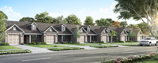 Heritage Place townhome rendering