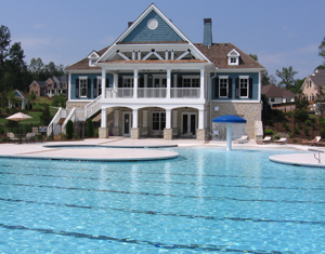 St. Michaels Bay pool