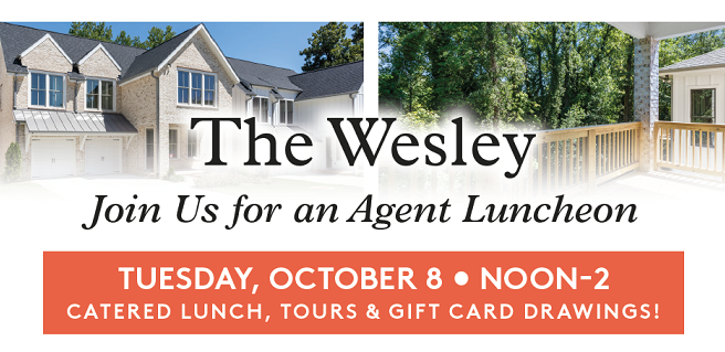 Monte Hewett Homes to Host Agent Luncheon at New Buckhead Community