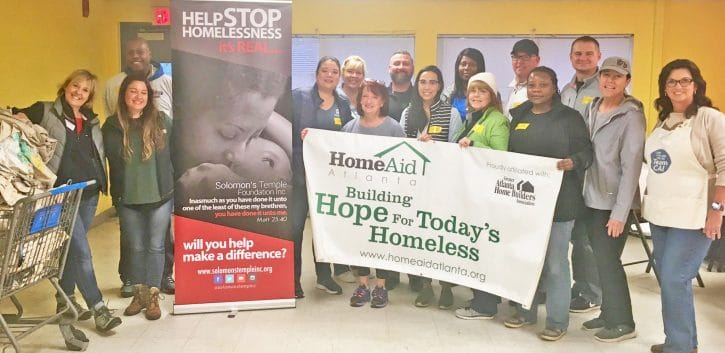 HomeAid Care Day Atlanta Group Picture