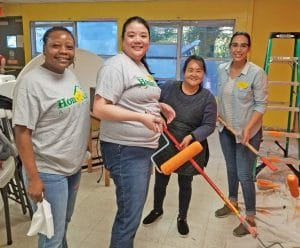 HomeAid Atlanta Care Day Painting