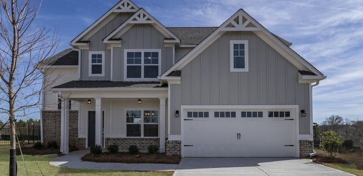 Paran Homes Oakmont Plan Oakleigh Pointe