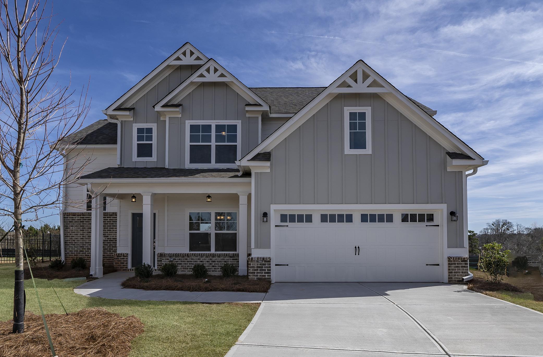 Paran Homes Oakmont Plan Oakleigh Pointe