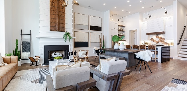 New Decorated Model Home Now Open at Halcyon in Alpharetta