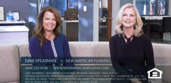 Gina Spearman with New American Funding