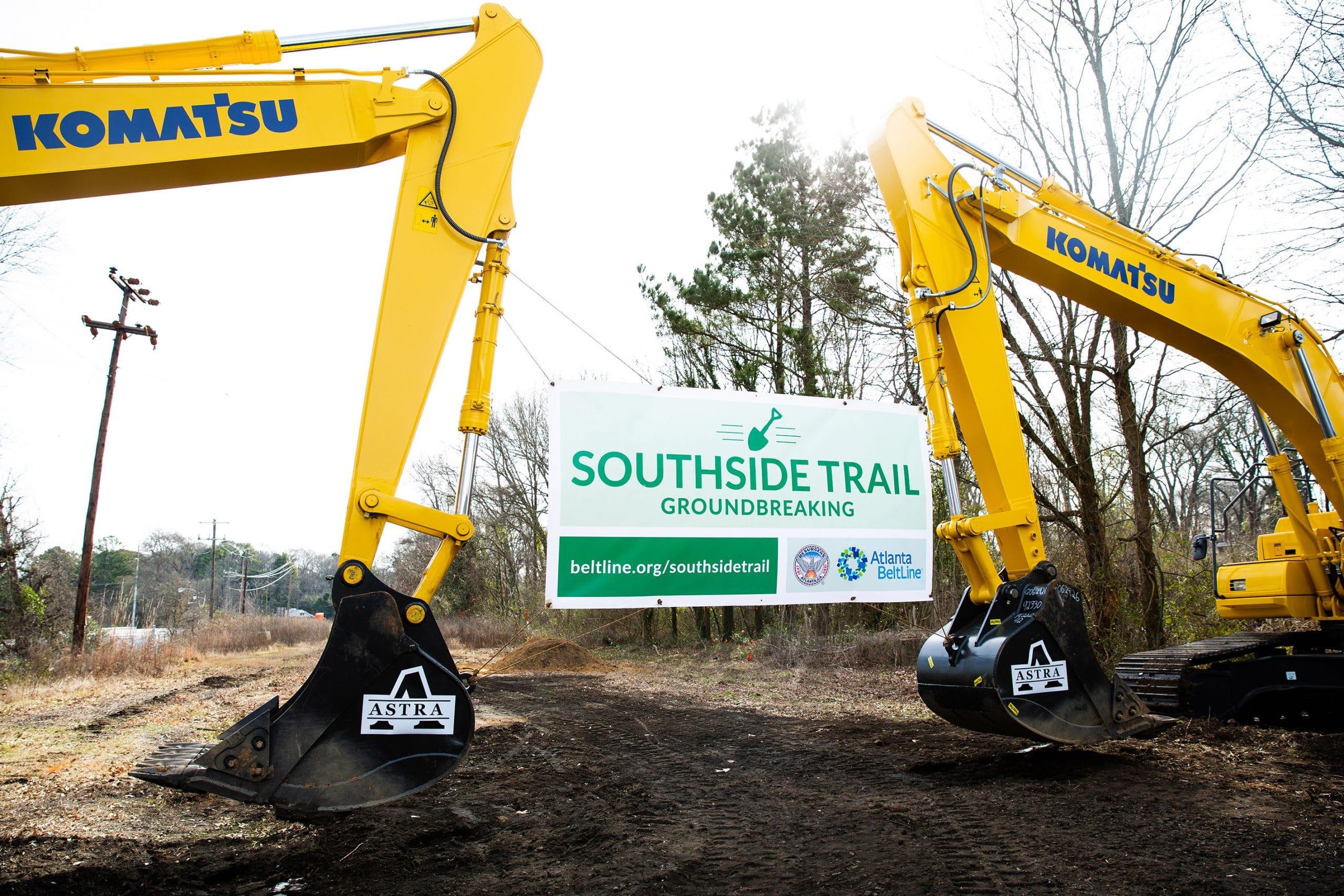 Atlanta BeltLine Southside Trail West Groundbreaking