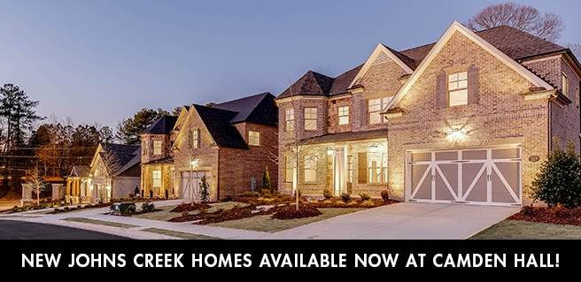 New Johns Creek Homes Available Now at Camden Hall