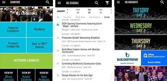 IBS mobile app