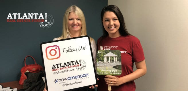 Amy Risher with Piedmont Park Conservancy