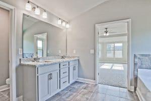Lake Rockwell Master Bathroom