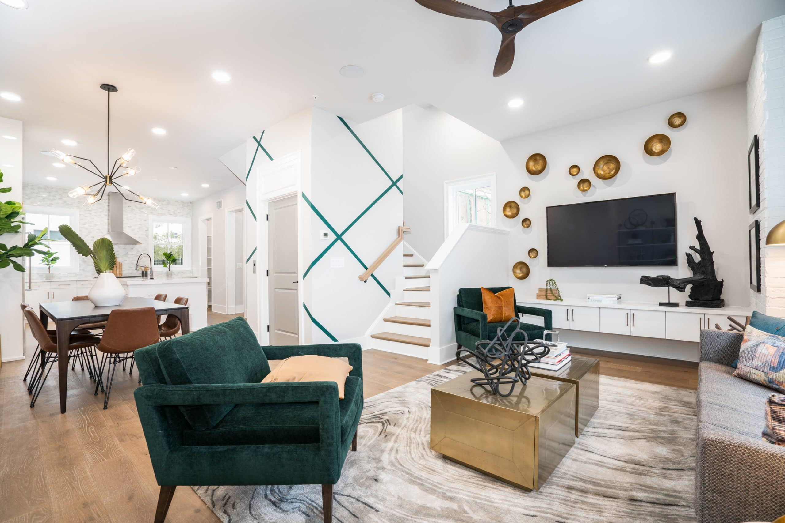 Decorated Model Home Now Open at New Community in Old Fourth Ward