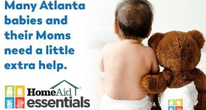 Essentials Drive Flyer for HomeAid Atlanta