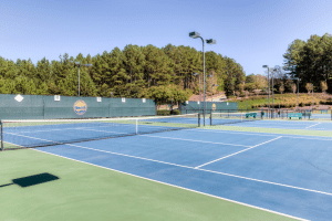Fischer Homes Tennis Courts at Governors Preserve
