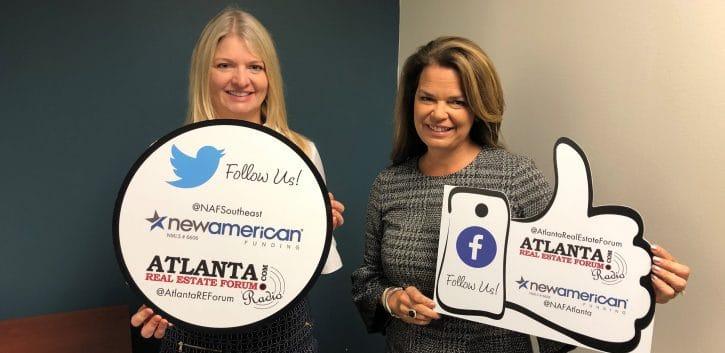 Carol Morgan and Gina Spearman on Atlanta Real Estate podcast