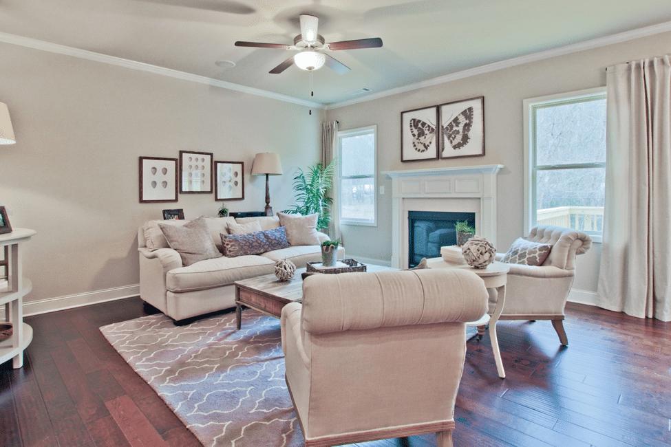 Walker Anderson Homes Living room In Morgan Landing